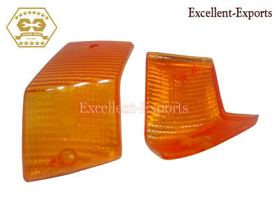 Vespa PX LML Rear Blinker Lens Orange Color Brand New P3416