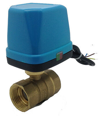 Procus 2 Port Motorised Zone Valve Ball Valve 1""
