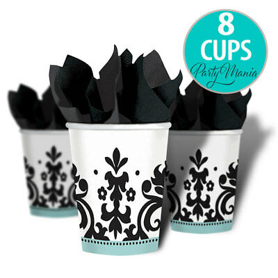 Always And Forever Wedding Engagement Party Supplies Cups ~ Pack Of 8