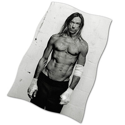 Iggy Pop Flag Banner NEW The Passenger Lust For Life Real Wild Child Candy