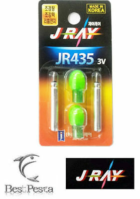 J-RAY - STARLIGHT A LED JR435 - Ø4,0mm - VERDE - blister 2pz
