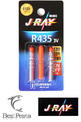J-RAY - STARLIGHT A LED R435 - Ø4,0mm - ROSSO - blister 2pz