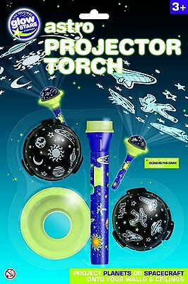Astro Projector Torch Stars Planets Spacecraft Astronaut Educational Children