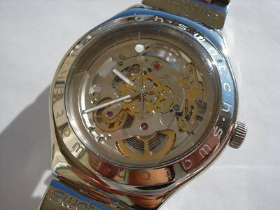 "Swatch automatic ""Body And Soul"" used functioning excellent condition"