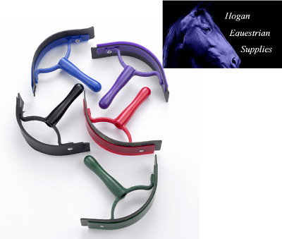 Plastic sweat  scraper various colours horse grooming products