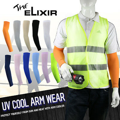 The Elixir Construction Protective Gear Arm Sleeves One Size Various Colors Lab