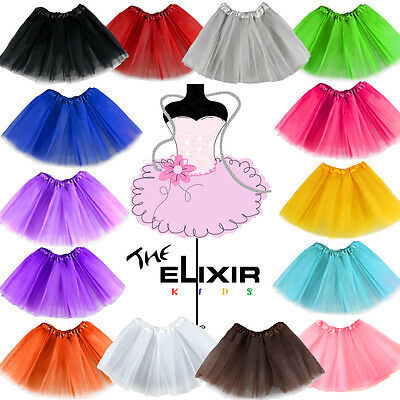 Girls tutu Ballet Dance Dress Wear Party Pettiskirt One Size for Kids Custome