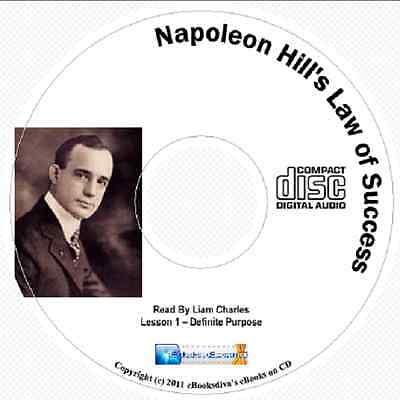 The Laws Of Success - Napoleon Hill- Audiobook 15 CD Set