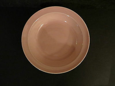 LU-RAY LURAY T.S.&T. PASTELS pink rimmed soup bowl