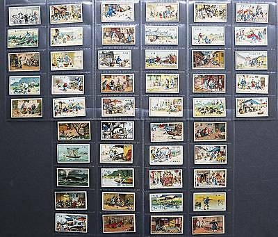 B.C.C. Chinese - Human Interest Series - very scarce clean 50 of 72 in sleeves