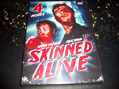 4 HORROR MOVIE BOXED SET: SKINNED ALIVE!! BRAND NEW & FACTORY SEALED!!!