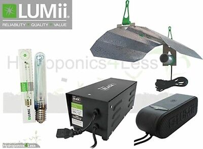 Lumii Compacta 600W 400W Magnetic Ballast Grow Light Kit Hydroponics Sunblaster
