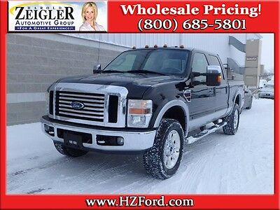 Ford : F-350 Lariat Lariat Diesel 6.4L Chrome Bumper Color Grille Color Running Boards MICHIGAN