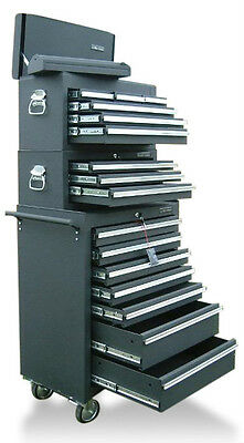 03 US Pro Tools Tool Black profesional Chest Box roll cabinet FINANCE AVAILABLE