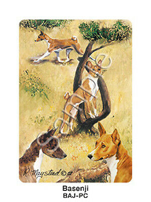 Ruth Maystead Dog Playing Cards Basenji Deck Pack Poker