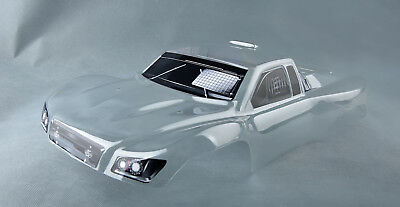 Traxxas Slash All Editions Truck Car Body Transparent 1/10 Scale  with Stickers