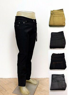 f2eff22b KAYDEN K MEN'S Slim Fit Stretch Jeans Raw Denim Pants SS101 - $18.50 ...