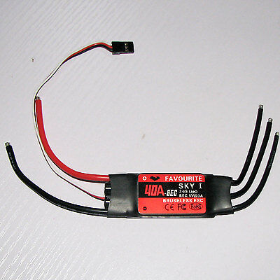 SKYI-040 Airplane Brushless ESC 40A with LBEC RC model plane parts wholesale