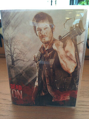 New Walking Dead Daryl pocket travel journal note handy notebook diary