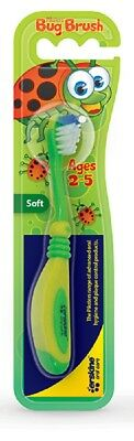 12x, 18x or 24x Piksters Childrens Bug Brush Toothbrushes - From $2.70/brush!