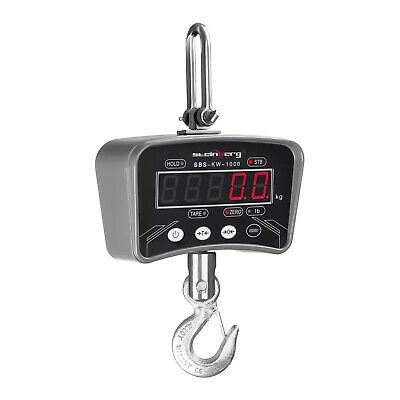 Crane Scale 1000 Kg - Weighing Digital Portable Industrial Hanging Scales Led