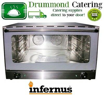 New Infernus Convection Oven Electric Commercial Multifunction Catering Kitchen