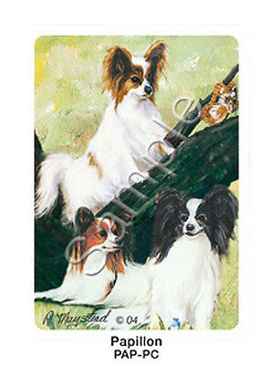 Ruth Maystead Dog Playing Cards Deck Pack Papillon NEW