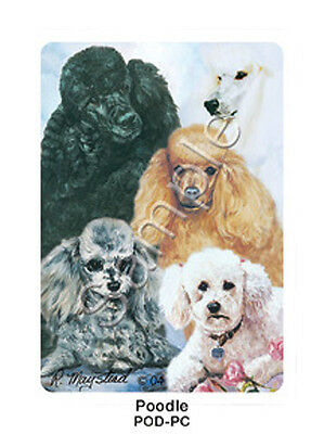 Ruth Maystead Dog Playing Cards Deck Pack Poodle Standard Toy Miniature NEW