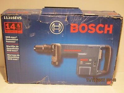 Bosch 11316EVS 14 Amp SDS-Max Demolition Hammer NEW IN SEALED BOX, FREE SHIP!!!!