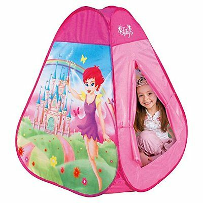 New Fairy Cottage Princess Castle Girl Play House Pink Pop-up Tent Best Toy Baby