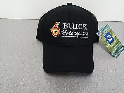 Gm Licensed Buick Motorsports Solid Color Hats
