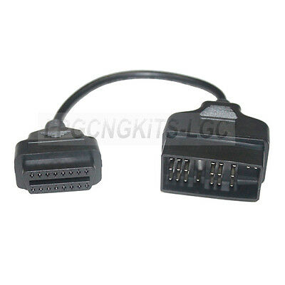 TOYOTA 22 Pin to 16 Pin OBD1 to OBD2 Connector Adater Cable