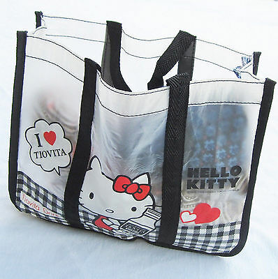 Women Girls Kids Hello Kitty Travel Beach Waterproof Swim Carry Tote Lunch Bag