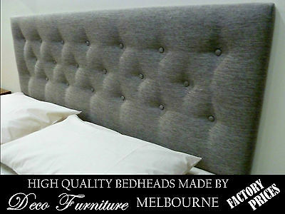Upholstered Bedhead for King Size Ensemble Quality Made Headboard R.R.P. $690