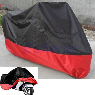 UV Protective Motorcycle Rain Breathable Street Bikes Scooter Waterproof Cover