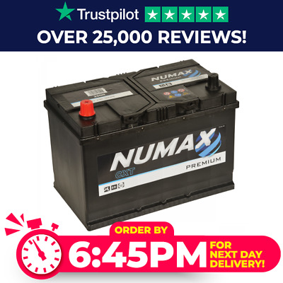 Titanium 334 Car Van Battery 12V 91Ah 740CCA - 4 Year Warranty
