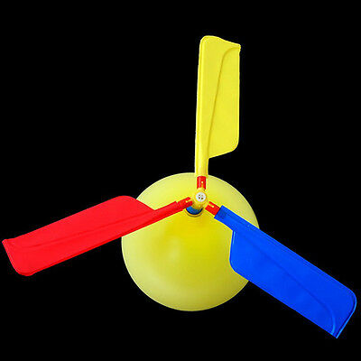 Traditional Classic Balloon Airplane Helicopter For Kids Children Flying Toy