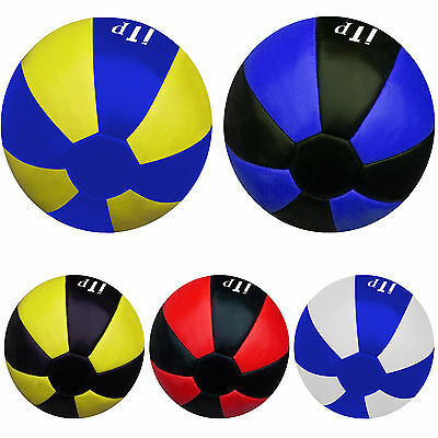 Leather Medicine Ball 3KG,5KG Gym Exercise Fitness Filled Ball Heavy Duty