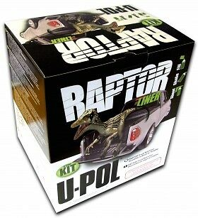 Upol RAPTOR Tough and Tintable Protective Coating KIT BLACK