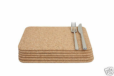 T&G Sets Cork Square Rectangular Round Table Place Mats Coasters