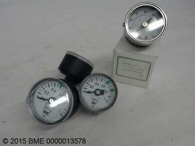 LOT OF 3, SMC G36-10-01, MPA GAUGE , 1 SAD1501-160 GAUGE