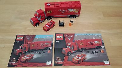 Lego Cars 8486 Mack's Team Truck & Lightning McQueen Used 100% Complete; Sorted!