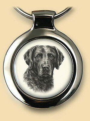 Das Portrait Dog Pendant/Key Ring NEW Chesapeake Bay Retriever