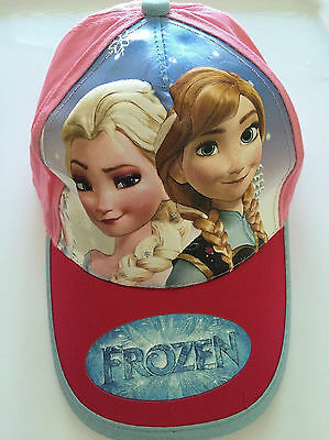 Girls Kids Children Princess Frozen Anna Elsa Sun Cap Sports Golf Baseball Hat