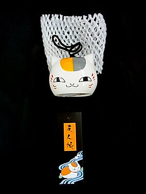 Japanese FURIN Wind bell CAT Japanese anime NatsumeYuujinchou Nyanko teacher