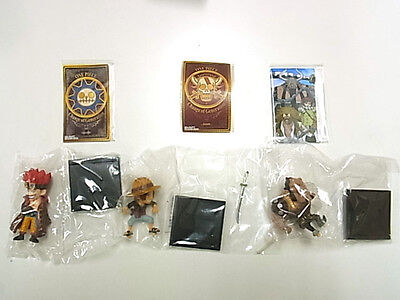 Japanese One Piece Figure 3set