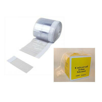1000 pcs Dental Universal Cut Apart X-Ray Film Mounts - Clear DP117