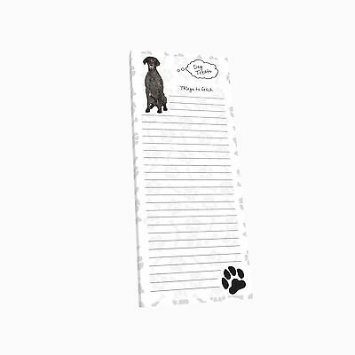 Got Yo Gifts Lined Magnetic Dog List Pad NEW German Shorthaired Pointer