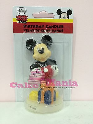 Candelina Topolino Disney In 3D Cera Festa Party Compleanno Candela Mickey Mouse