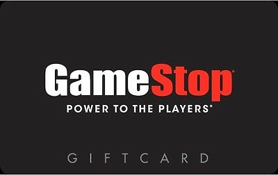 GameStop Gift Card $25/ $50/ $100 - Mail delivery